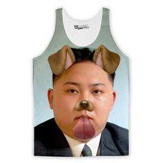 Kim Jong-un Selfie Tank Top