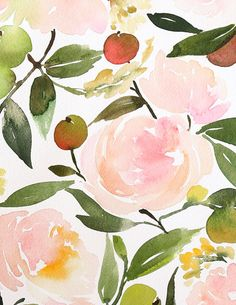 Apples & Roses Composition — Yao Cheng Design