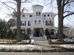 Garfield Place, Poughkeepsie, NY. We walked past this magnificent home every day on our way to school.