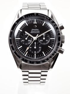 1967 ref. 145.012 Omega Speedmaster. Worn to the moon.  Only Omega worth having.