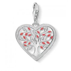 7b5d54faf Thomas Sabo Tree of Love Heart Charm - Mococo Life Symbol, Heart Tree, Love