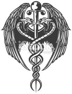 Medical Symbol Tattoo