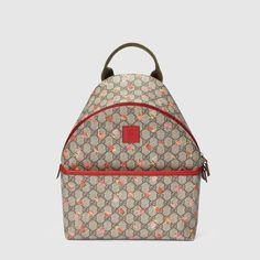 Gucci Children's GG strawberry backpack