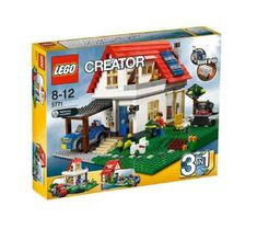 Compare prices on LEGO Creator Set Hillside House from top online retailers. Save money on your favorite LEGO figures, accessories, and sets. Lego Creator Sets, Lego Creator House, The Creator, Star Wars Kids, Lego Star Wars, Hillside House, Lego City Police, Lego Store, Shop Lego