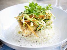 Schelvis met fijne groentjes en puree - Libelle Lekker!