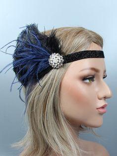 Women S Fashion Queen Street Mall Flapper Headpiece, Flapper Headband, Twist Headband, 20s Flapper, 1920s Fashion Women, Latest Fashion For Women, Fashion Men, Fashion Ideas, Hair Scarf Styles