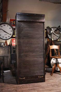 meuble industriel ancien de metier deco loft