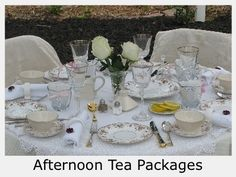 English Tea Table Settings | ... Rental Hosted Tea Events Event Planner & Elegant Tea Party Table Settings | Proud to be British! | TEA PARTY ...