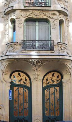Bonjour Paris - Art Nouveau Architecture in Paris