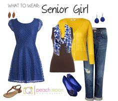 What to Wear for Senior Portraits @ Peach Moon Photography