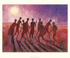 Rhythmic Dancing Jonathan Sanders 560287  Paper: 19.7 x 23.6 Image: 16.1 x 22   Retail $28.00