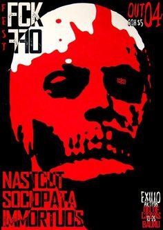 Fck Off Fest @ Bauru, SP (04/10/2013) Sociopata, Nastcut e Immortuos