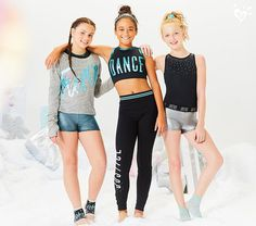 Mackenzie Ziegler for Justice Active collection. For girls who shine bright.