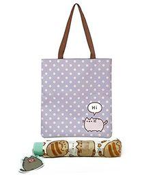 Pusheen Polka Dot Tote Bag and Umbrella Set Pusheen https://www.amazon.com/dp/B06Y41BKYQ?m=A1WRMR2UE5PIS8&ref_=v_sp_detail_page