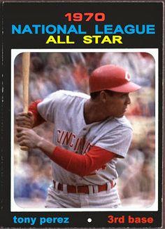 1971 Topps Tony Perez All-Star, Cincinnati Reds, Baseball Cards That Never Were