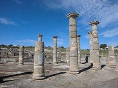 Basílica. Siglo I dc. Conjunto Arqueológico de Baelo Claudia. Bolonia. Cádiz