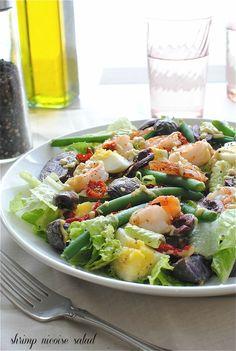 Shrimp Nicoise Salad from @bevcooks