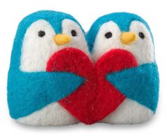 Felted Love Penguins at Magic Cabin