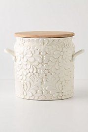 cute canister from anthropologie