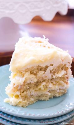 This Lemon Coconut Cake recipe with cream cheese frosting is the best lemon cake recipe! Classic coconut cake is filled with homemade lemon curd and lemon cream cheese frosting. Coconut lemon cake from scratch makes the best Easter dessert recipe! Rich's Coconut Cake Recipe, Best Lemon Cake Recipe, Lemon And Coconut Cake, Coconut Recipes, Lemon Recipes, Coconut Cakes, Coconut Cake Frosting, Coconut Cake Easy, Homemade Lemon Cake