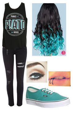 """Panic! At The Disco"" by picky-picky ❤ liked on Polyvore"