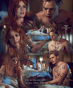 Likes, 24 Comments - 🎐 Shadowhunters Clary Et Jace, Clary Fray, Shadowhunters Series, Shadowhunters The Mortal Instruments, Malec, Dominic Sherwood, Cassandra Clare Books, Jace Wayland, City Of Bones