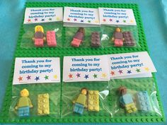 Chocolate Lego, White Chocolate, Party Favours, Favors, Fondant Hair, Lego Figures, Goody Bags, Goodies, Birthday Parties