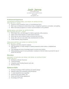 resume examples