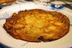 Opskrift på Pandekager #pancake #baking