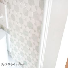 Backsplash Tile Edge Molding The Lettered Cottage Kitchen