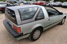 Nissan Pulsar NX Sportbak with wagon-type hatch option. As seen at the June 2016 Cars and Coffee show in Austin TX USA.