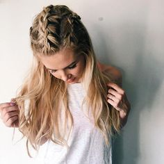 #Braids are the ultimate summer style and we can't get enough! Check out @amberfillerup for more #hairinspo ideas.  #abbalancedlife