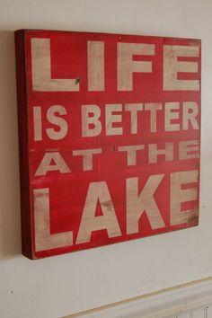 Lake. home-decor-ideas