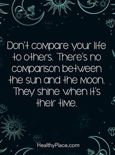 Don't compare your life to others. life quotes quotes quote life motivational quotes quotes and sayings wisdom quotes life goals words of wisdom quotes to live by life pics Motivacional Quotes, Cute Quotes, Great Quotes, Quotes To Live By, Unique Quotes, Wisdom Quotes, Funny Quotes, The Words, Word Up