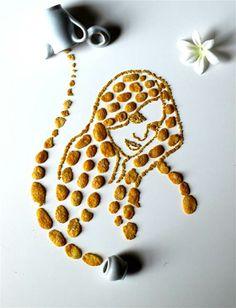#JenniferLopez is depicted in corn flakes.