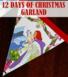 Post image for The 12 Days of Christmas Garland