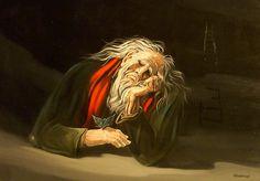 LA FARFALLA ...si è posata sulla mano del vecchio, egli ascolta il messaggio, dietro la nuvola è apparsa una scala... Dopo quella si bussa alla porta...