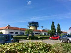 Flugplatz Güttin mit dem Turm