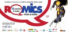 20th Edition Romics Convention In Rome 2016  Date(s): 29.09.16 - 02.10.16. Venue: Fiera Roma, Via Portuense 1645-1647, 00148 Rome, Italy.  If you are a fan of comics, animation and gaming of any type and are in Rome between the 29th September and 2nd October 2016, then you should visit the Fiera Roma, where the biannual Romics comic convention takes place. This is the 20th edition of Romics.  http://www.romaterminisuites.com/news/20160916-20th-Edition-Romics-Convention-In-Rome-2016.html