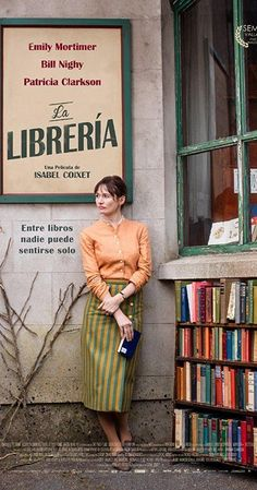 Directed by Isabel Coixet.  With Emily Mortimer, Bill Nighy, Hunter Tremayne, Honor Kneafsey. Set in a small town in 1959 England, it is the story of a woman who decides, against polite but ruthless local opposition, to open a bookshop, a decision which becomes a political minefield.
