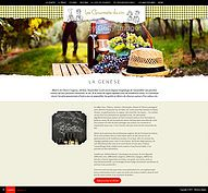 Website of Les Gourmets du Vin by L'Assemblage