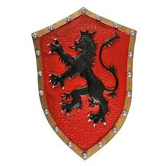 Crusader Medieval Lion Heart Knight Foam Costume Prop Shield LARP by Swordsswords. $24.99