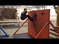 ▶ Mud Run Obstacle Training Techiques: How to Get Over a Wall Part 1 - YouTube