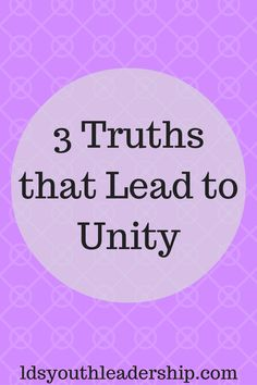 Are you trying to establish unity with LDS youth or other LDS leaders? This post can really help! Mutual Activities, Young Women Activities, Latter Days, Latter Day Saints, Unity Quotes, Lds Youth, Youth Leader, Personal Progress, Church Quotes