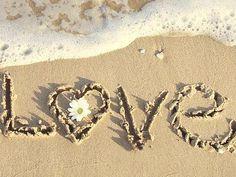 ❤ beach & love