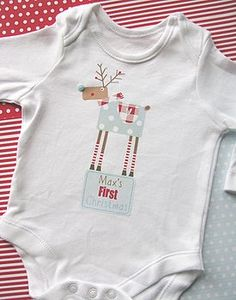 37 Best My First Christmas Pajamas images  3b9fe2cb2