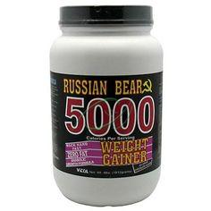 Vitol products russian bear 5000 gainer choc 4 lb powder