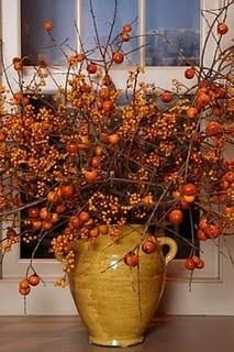 Ideas and inspirations for autumnal decorations