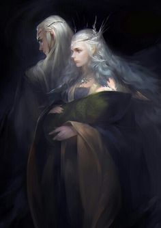 King Thranduil and Queen