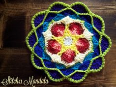 While crocheting the Sophia's Mandala, I knew I wanted to create more mandalas. Just looking at one is inspiration for crochet. Although this pattern does not have step by step photos for directions, I tried to explain it as well as I could with my words. Happy Hookin'! Supplies G – 4.25 mm crochet hook …
